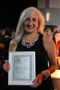 Geri Sanson 2014 Spirit of Barbra Schlifer Award Recipient