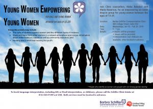 Young Women Empowerment Flyer