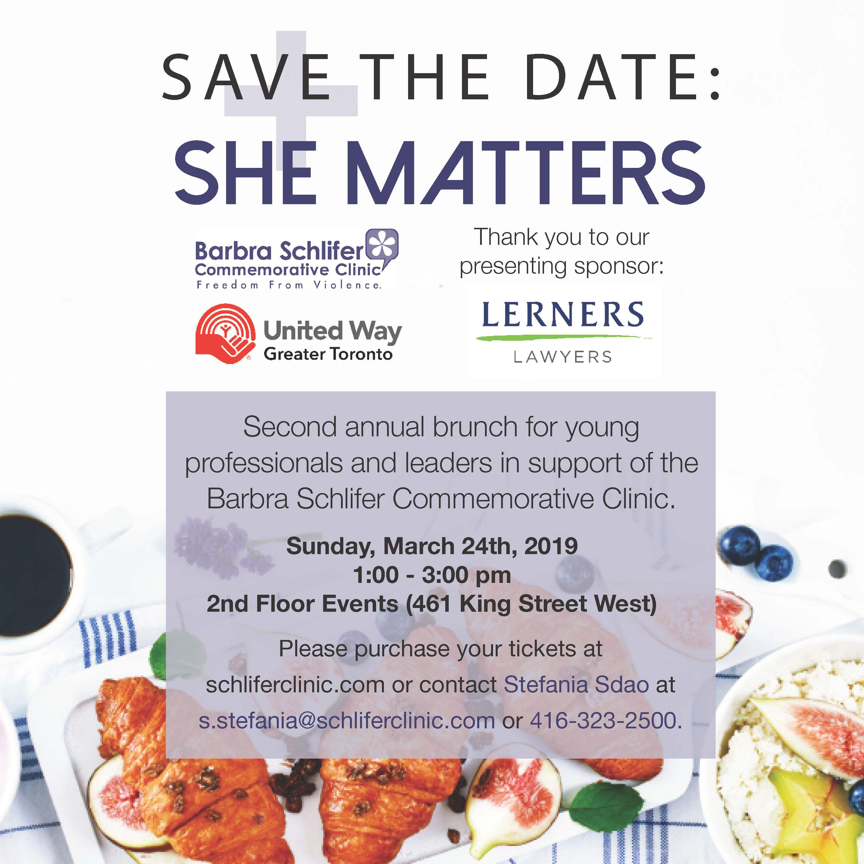 Save the Date for She Matters!