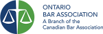 Ontario Bar Association logo