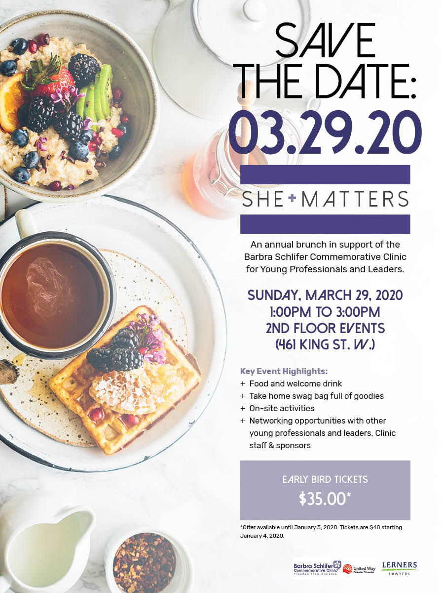 photo of She Matters save the date