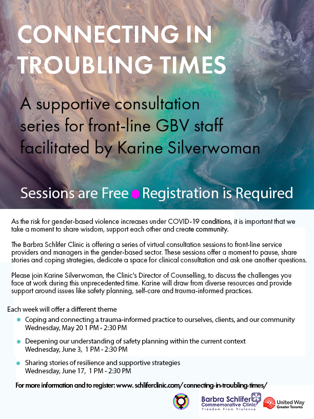 poster for troubling times series